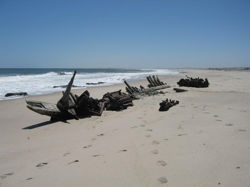 Shipwreck Skeleton Coast