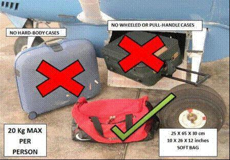Luggage Guidelines