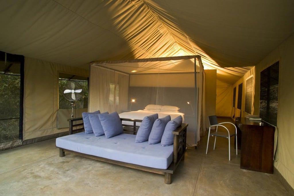 Khoka Moya Tent Interior