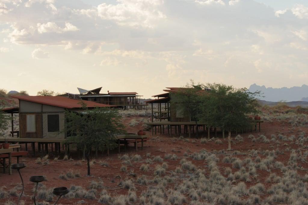 Eco-friendly accommodation.