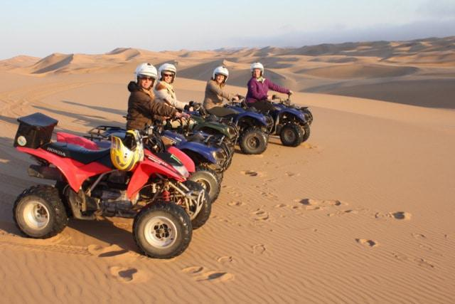 Out on the dunes!