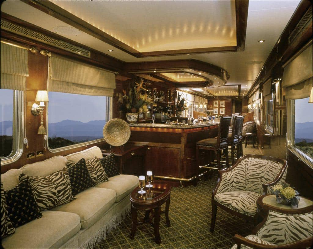 The Blue Train Lounge