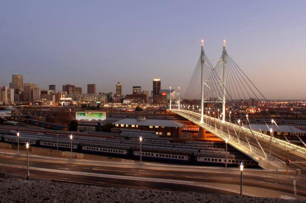 Johannesburg dusk