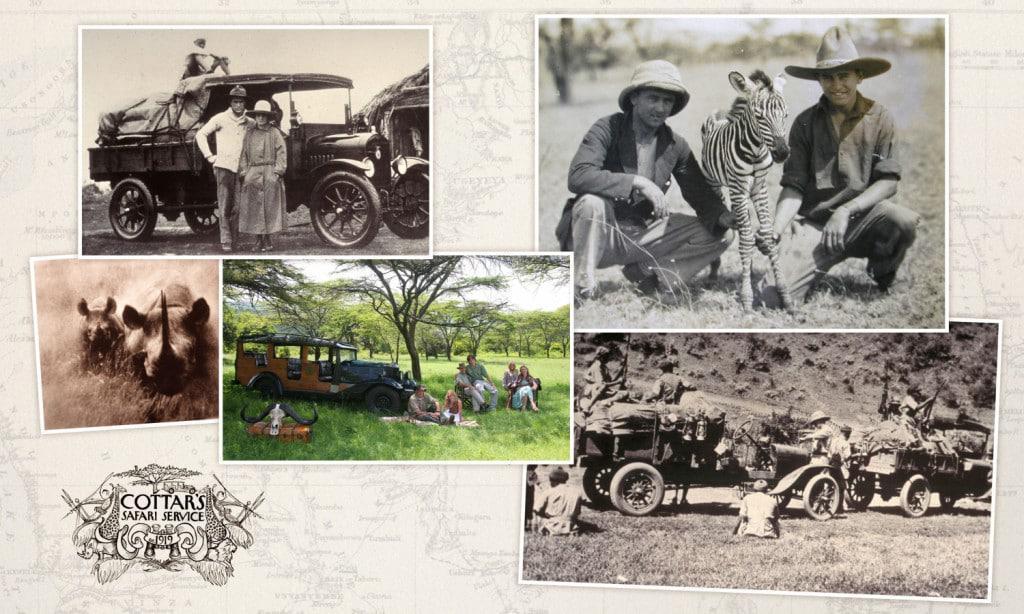Cottars Camp history