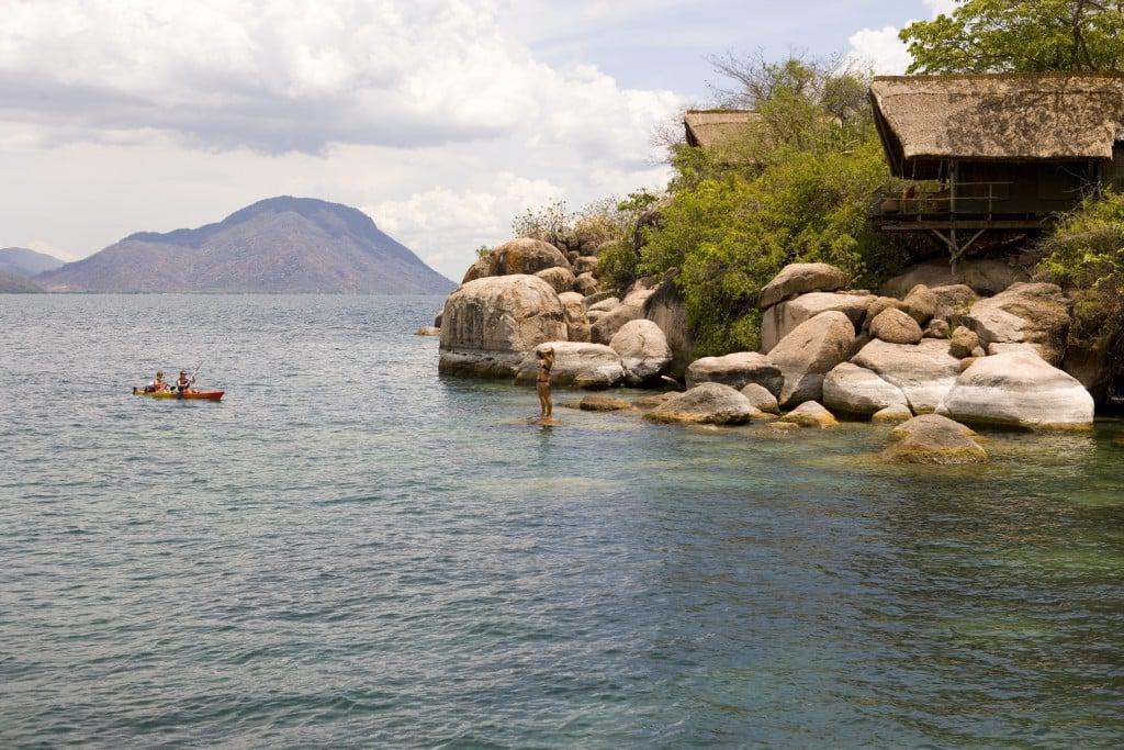Kayaking in Malawi