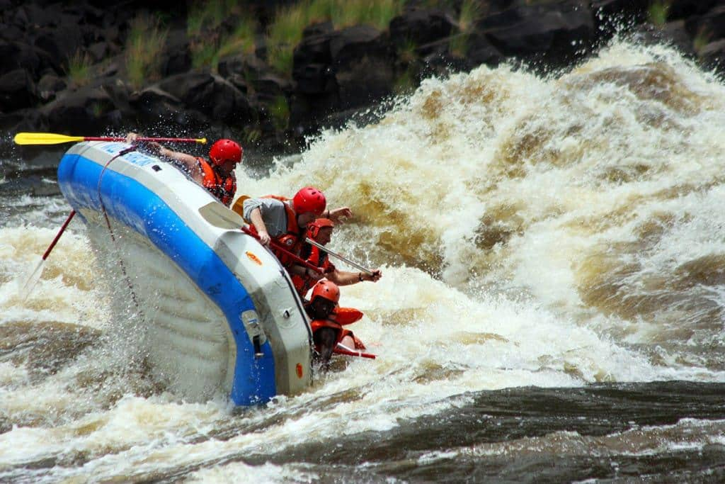 White Water rafting Zambia Pic credit Dave Swarthout
