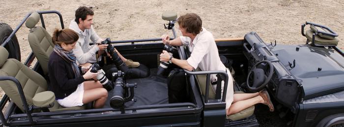 Photographic safari at Londolozi