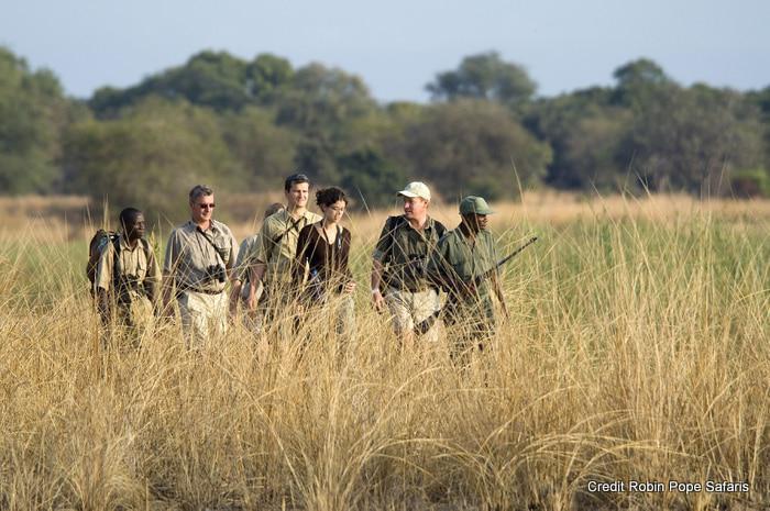 Robin Pope walking safari