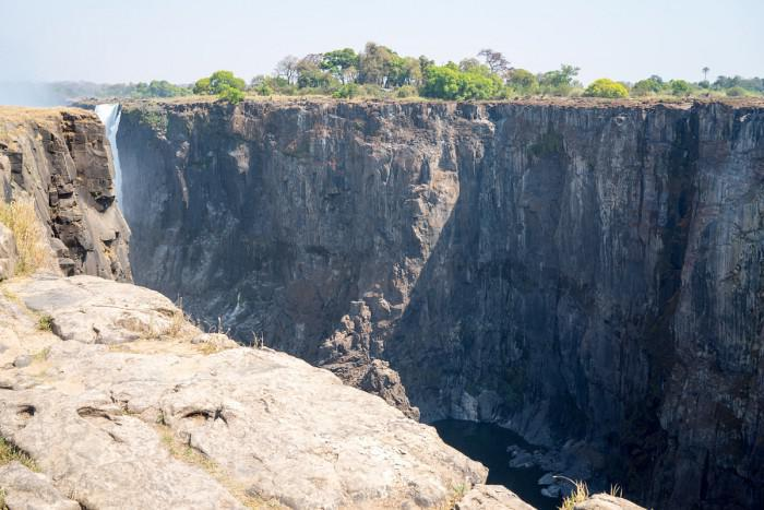 Vic Falls in dry season
