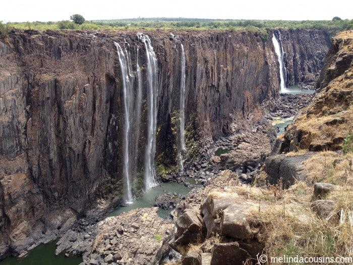 Victoria Falls on Zambia side