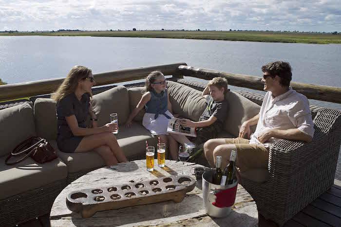 family safaris botswana deck