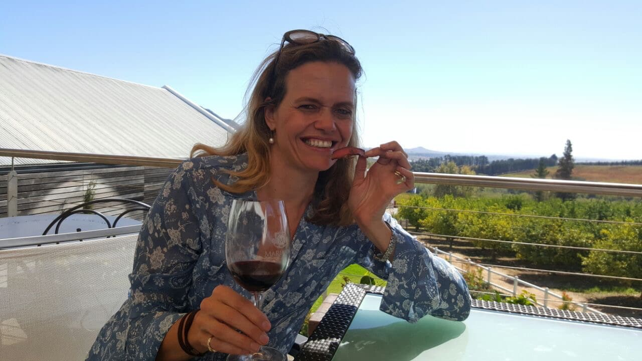 biltong and wine pairing