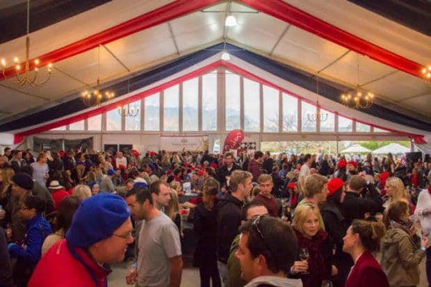Food and Wine Marquee Bastille Festival