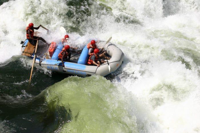 White river rafting victoria falls