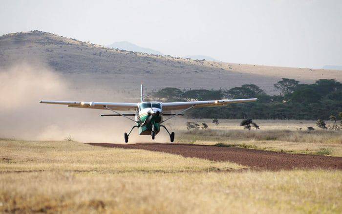 Light aircraft in Kenya