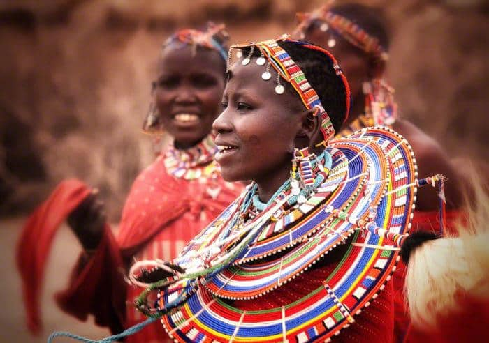 Masai Woman Picture Credit Marty Cohen Photography