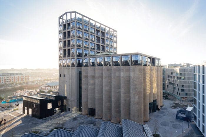 View of Zeitz MOCAA in Silo Square