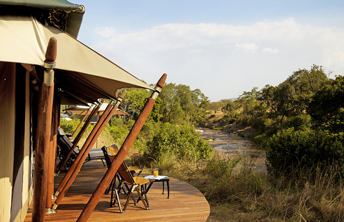 Elewana Sand River Camp in the Masai Mara in Kenya