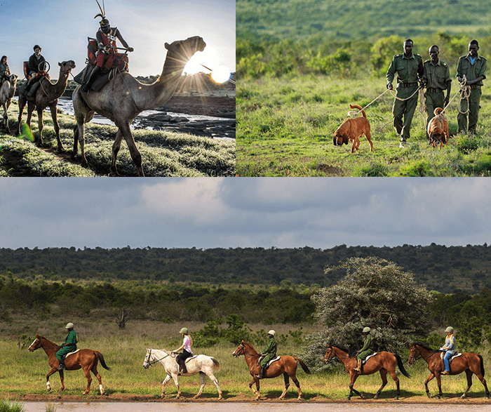 Adventure activities at Elewana Loisaba Tented Camp in Kenya