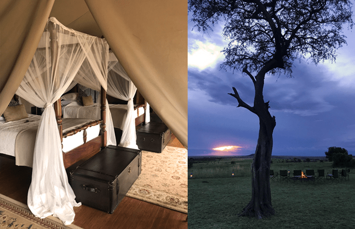 Elewana Sand River Camp in the Masai Mara, Kenya