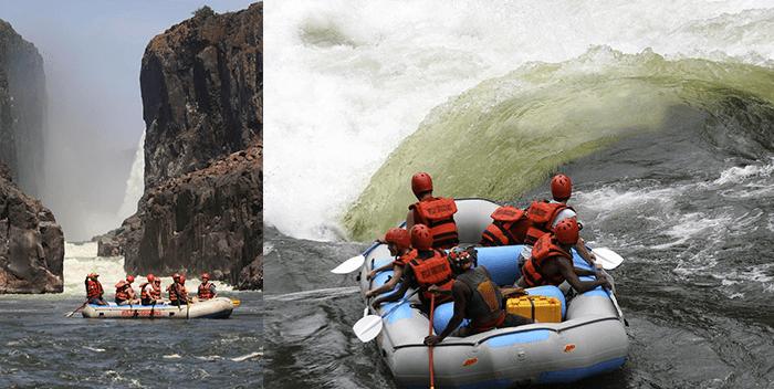 Whitewater rafting down the wild Zambezi starts in July