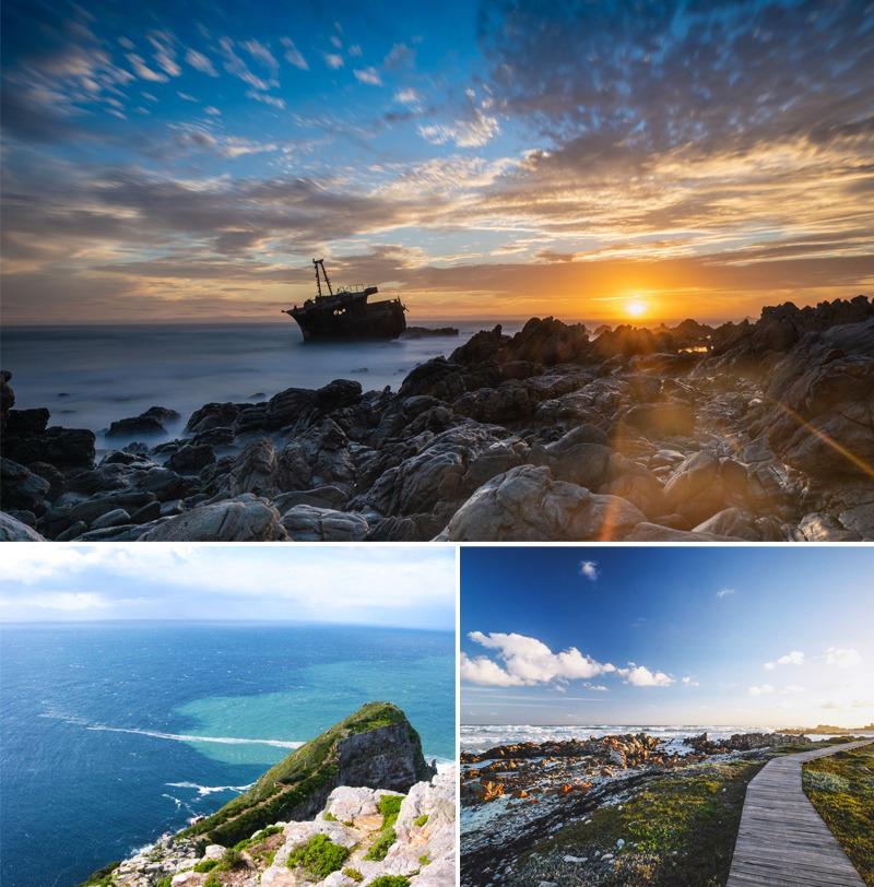 Cape Agulhas - Southermost tip of Africa - South Africa - African Safaris