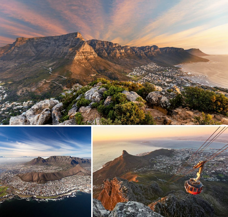 Table Mountain - Cape Town - Reasons to visit South Africa